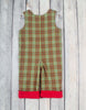 Smocked Plaid Reindeer Longall with Roll-Up Cuff - Boys - Stellybelly - 2
