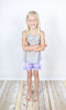 Lavender Ruffle Knit Shorts - Girls - Stellybelly - 2