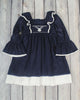 Smocked Deer Peasant Dress - Girls - Stellybelly - 1