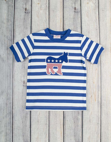 Democratic Blue Boys T-Shirt - Boys - Stellybelly - 1