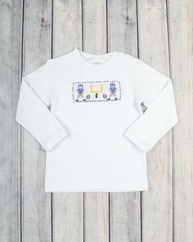 End Zone Boys Smocked LS T-Shirt - Boys - Stellybelly - 1