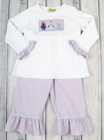 Snow Princess Pant Set