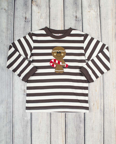 Gingerbread App Boys LS T-Shirt - Boys - Stellybelly - 1