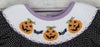 Jack-O-Lantern Smocked Bishop - Girls - Stellybelly - 4