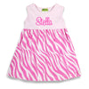 Light Pink/Hot Pink Zebra Kelly Dress