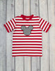 Striped Mouse Applique Boys T-Shirt - Boys - Stellybelly - 1