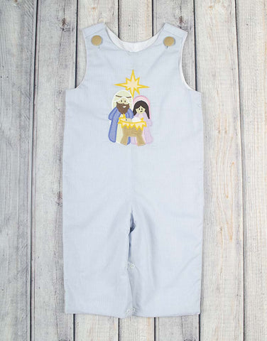 Nativity Applique Longall - Boys - Stellybelly - 1