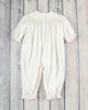 Smocked White Nativity Long Bubble - Girls - Stellybelly - 2