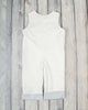 Smocked White Nativity Longall - Boys - Stellybelly - 2