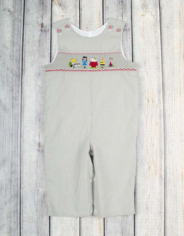 Smocked Neighborhood Friends Longall - Boys - Stellybelly - 1