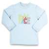 Peace Applique Boys LS T-Shirt