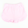 Knit Ruffle Shorts - Light Pink