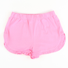 Knit Ruffle Shorts - Pink