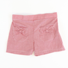 Girl Pocket Shorts - Red Check