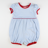 Out & About Knit Bubble - Patriotic Stripe