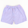 Plaid Shorts - Royal, Pink, & White