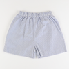 Signature Shorts - Blue Stripe Seersucker