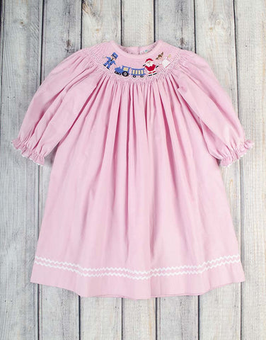 Smocked All Aboard Bishop - Girls - Stellybelly - 1