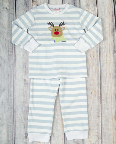 Jolly Reindeer App Boys Knit Loungewear - Boys - Stellybelly - 1