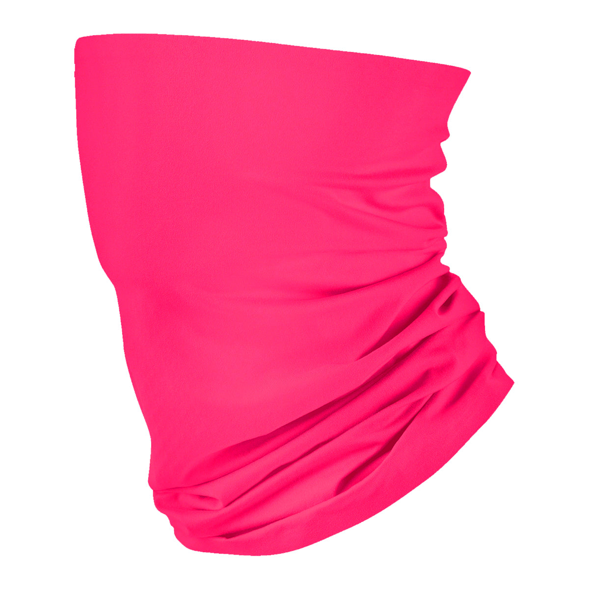 Solid Dark Pink Neck Gaiter