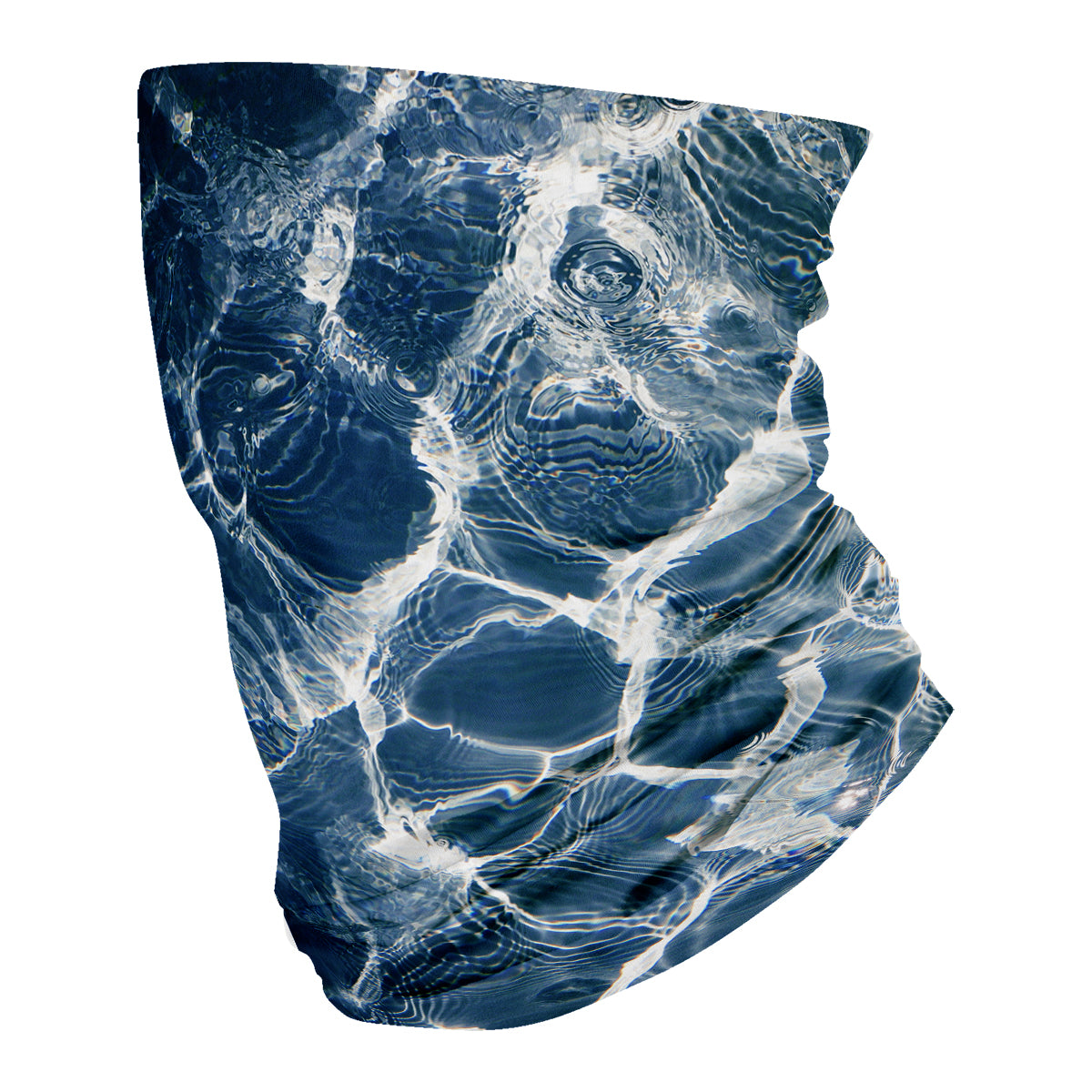 Water Blue Neck Gaiter