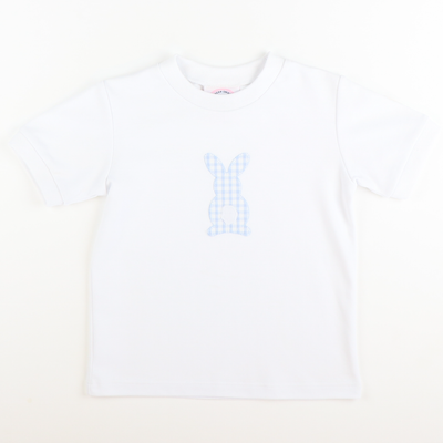 Appliqué Bunny Hop Short Sleeve Shirt