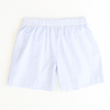 Classic Shorts - Light Blue Stripe Seersucker