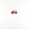 Christmas Tree Vintage Truck Long Sleeve Shirt
