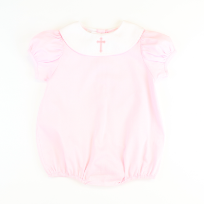 Embroidered Cross Girl Bubble