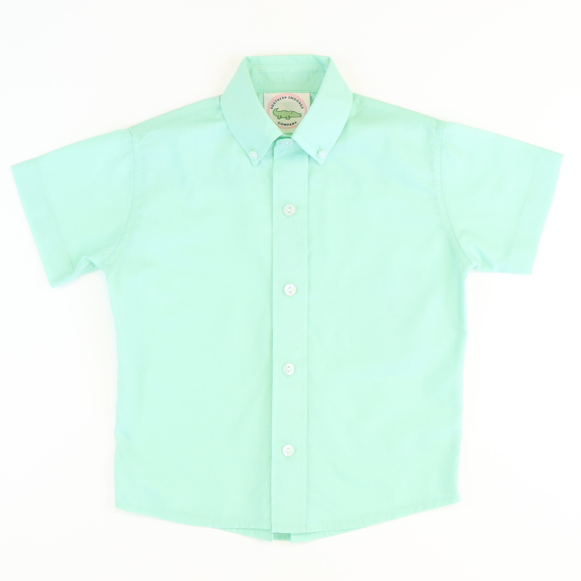Mint Button Down Shirt