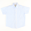 Light Blue Check Button Down Shirt