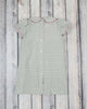 Smocked Gray Cross Collared Dress - Girls - Stellybelly - 2