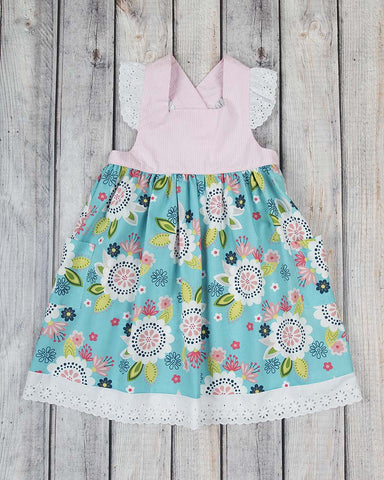 Boho Summer Millie Dress - Girls - Stellybelly - 1