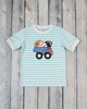 Sports Balls Dump Truck Applique T-Shirt - Boys - Stellybelly - 1
