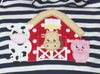 Barnyard Applique Knit Bubble - Girls - Stellybelly - 3