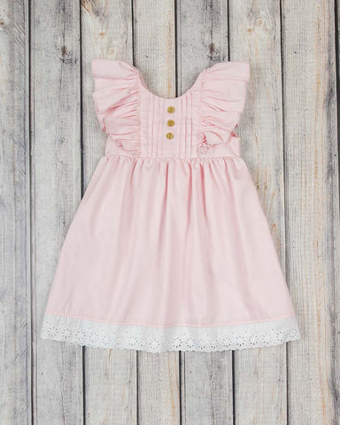 Pink Pique Harper Dress