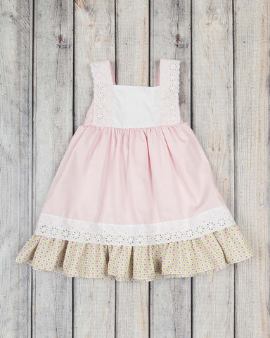 Pink Pique Hattie Dress