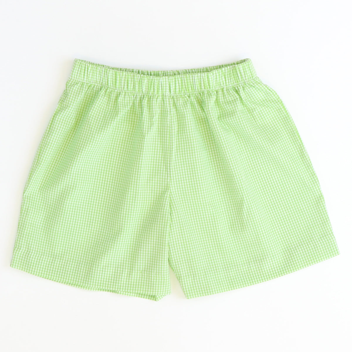 Signature Shorts - Green Check