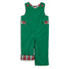 Green Cord and Red Plaid Tab Longall