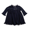 Navy Knit LS Nightgown