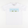 Smocked Garden Bunnies Short Sleeve Knit Shirt