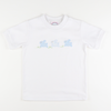 Appliqué Bunny Hop Short Sleeve Boy Shirt