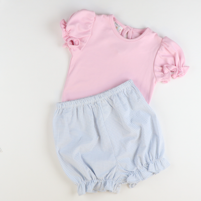 Out & About Knit Onesie - Pink