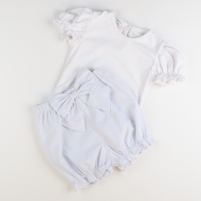 Out & About Knit Onesie - White