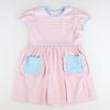Out & About Knit Pocket Dress - Pink Stripe