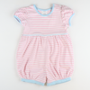Out & About Knit Bubble - Pink Stripe