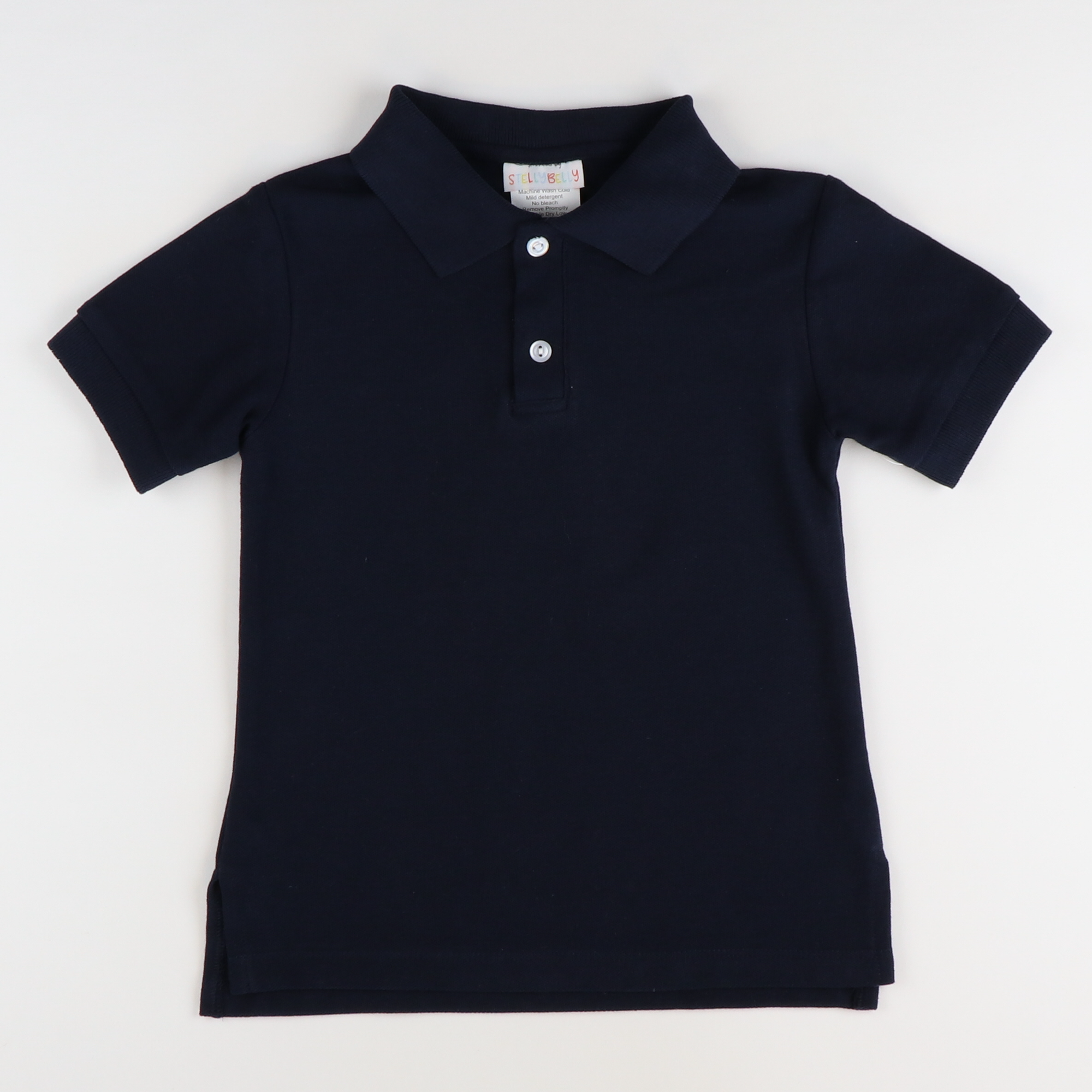 Signature Pique Polo - Navy Blue