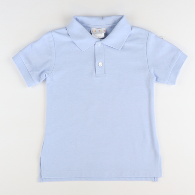 Signature Pique Polo - Light Blue