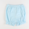 Soda Shop Bloomer Shorts - Sky Check Seersucker