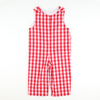 Holiday Red & White Check Longall